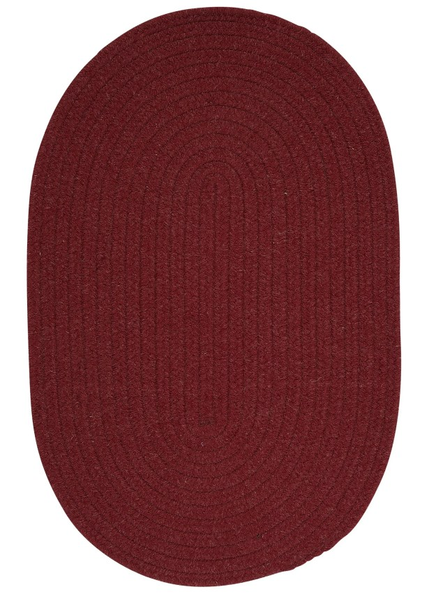 Navarrette Holly Berry Area Rug Rug Size: Oval Runner 2' x 8'