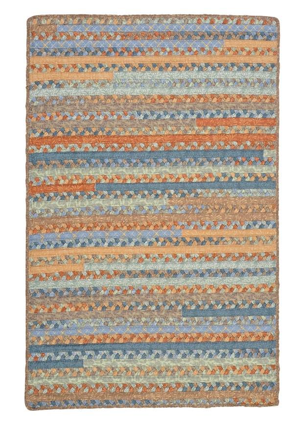 Surette Vintage Blue Rug Rug Size: Rectangle 8' x 11'