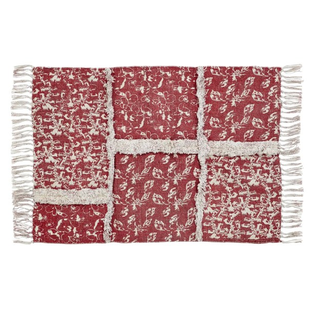 Aline Red Area Rug Rug Size: 5' x 8'