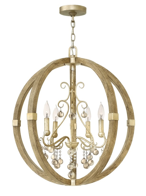 Abingdon 4 Light Foyer Pendant