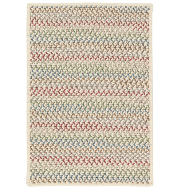 Arvie Hand-Woven Red/Green Area Rug Rug Size: Rectangle 2' x 4'