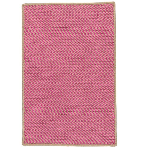 Mammari Hand-Woven Pink Indoor/Outdoor Area Rug Rug Size: Rectangle 2' x 4'