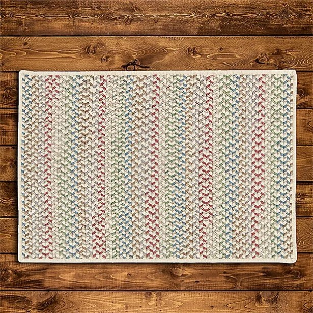 Arvie Hand-Woven Red/Green Area Rug Rug Size: Runner 2' x 10'