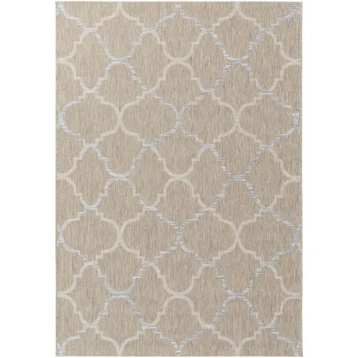 Chatsworth Neutral Indoor/Outdoor Area Rug Rug Size: Rectangle 5'3