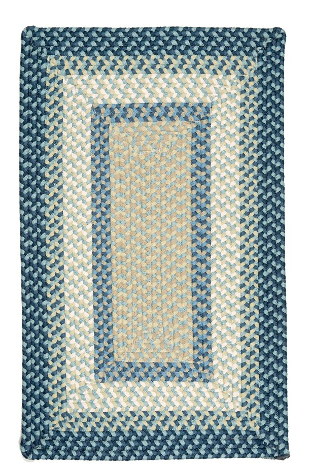 Marathovounos Blue Burst Kids Indoor/Outdoor Area Rug Rug Size: Rectangle 4' x 6'