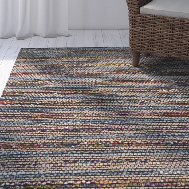 Abia Hand-Woven Area Rug Rug Size: Rectangle 6' x 9'
