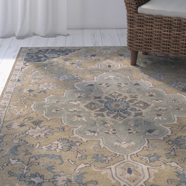 London Hand-Tufted Taupe/Gray Area Rug Rug Size: Rectangle 3'3