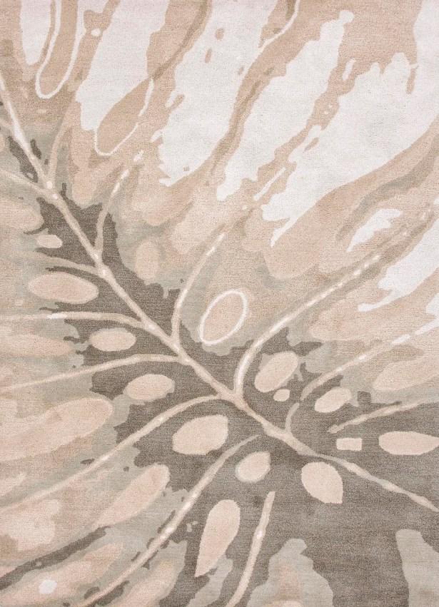 Farley Coastal Hand-Woven Wool Ivory/Gray Area Rug Rug Size: Rectangle 3'6