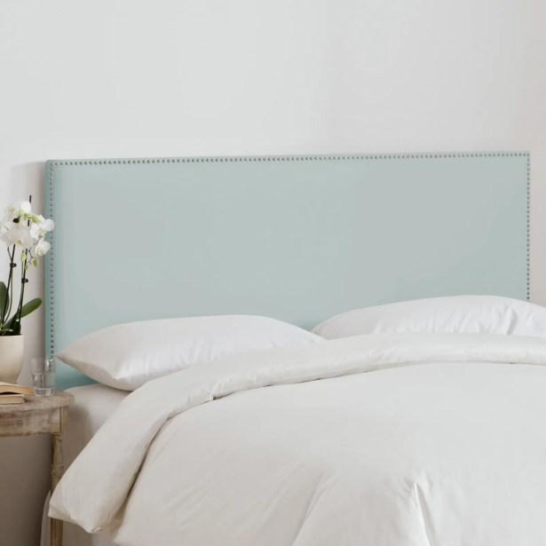 Burhardt Upholstered Panel Headboard Upholstery: Black, Size: Queen