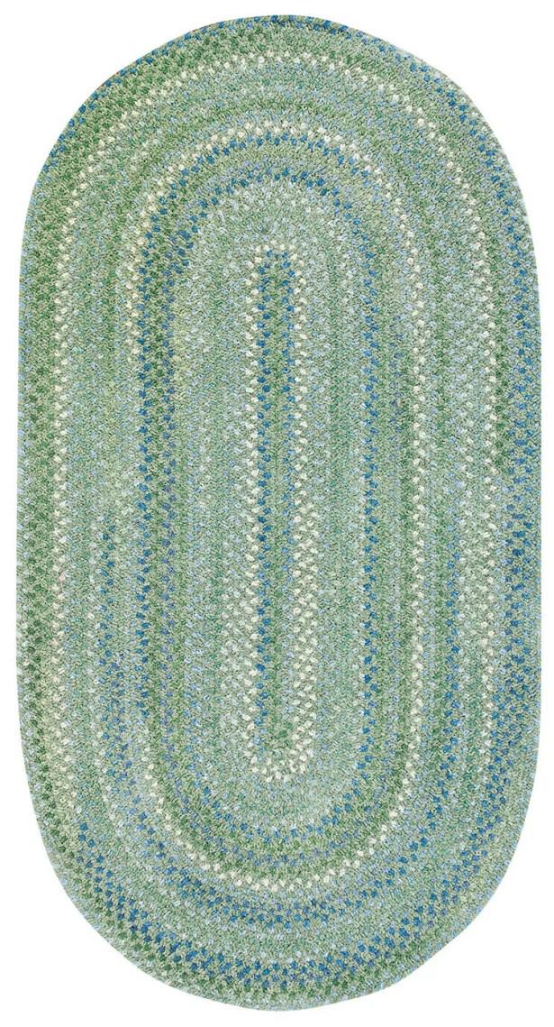 Celise Sea Monster Green Area Rug Rug Size: Oval 4' x 6'