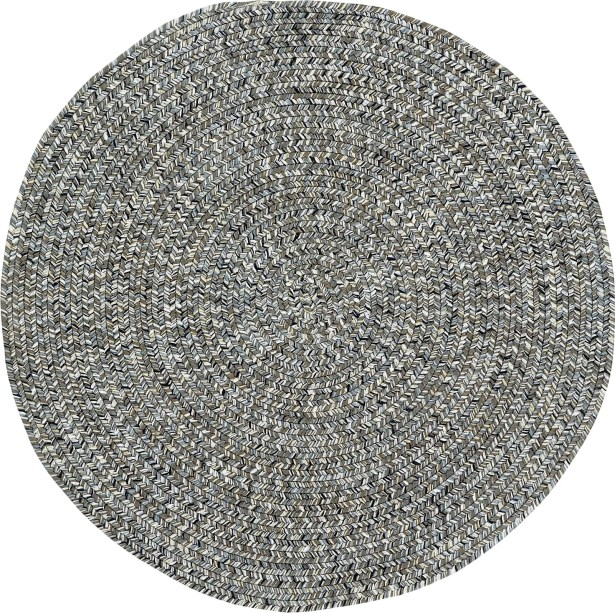 Lemon Grove Smoke Variegated Outdoor Area Rug Rug Size: Concentric 4' x 6'