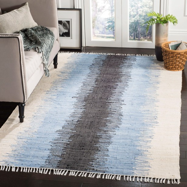 Ona Hand-Woven Cotton Area Rug Rug Size: Rectangle 5' x 8'