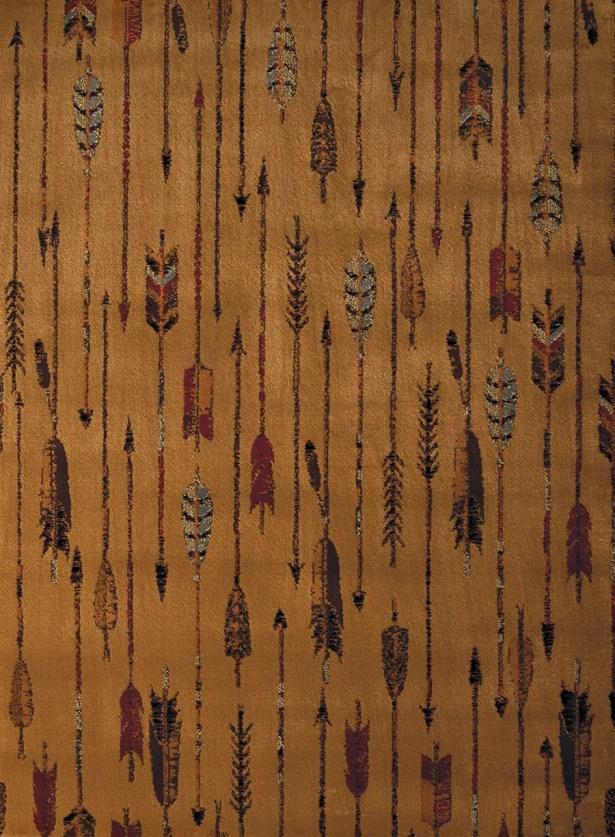 Sayre Brown Area Rug Rug Size: Rectangle 5'3