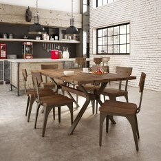 Dining Table Sets Darcelle 7 Piece Solid Birch Dining Set