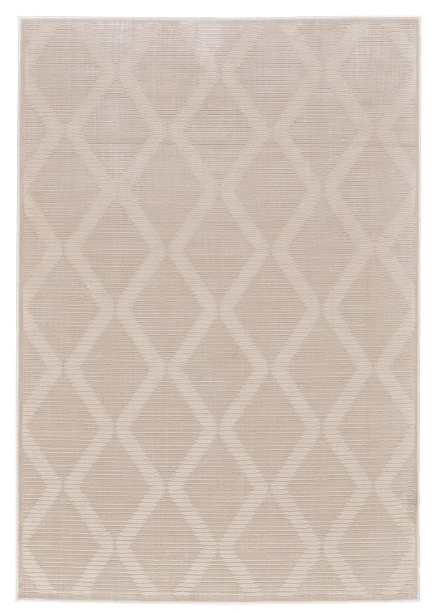 Witham Cream Area Rug Rug Size: Rectangle 5' x 8'