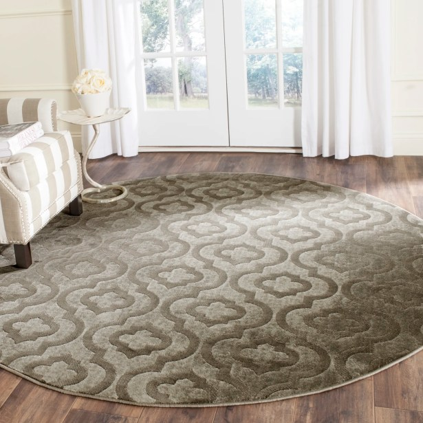 Manorhaven Gray/Charcoal Area Rug Rug Size: Rectangle 5'2