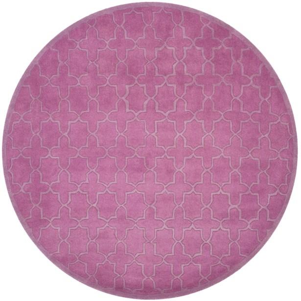 Gosport Hand-Tufted Dark Pink Area Rug Rug Size: Rectangle 8' x 10'
