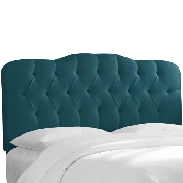 Macdougal Tufted Upholstered Panel Headboard Size: California King, Upholstery: Peacock