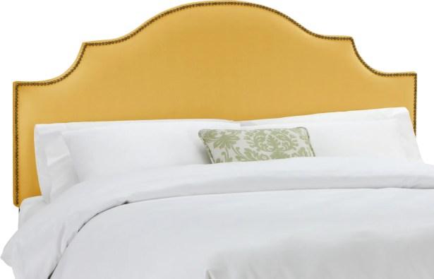 Rosecrans Linen Upholstered Panel Headboard Size: Twin, Upholstery: Grey