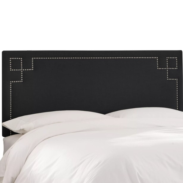 Diego Upholstered Panel Headboard Size: California King, Upholstery Color: Laguna