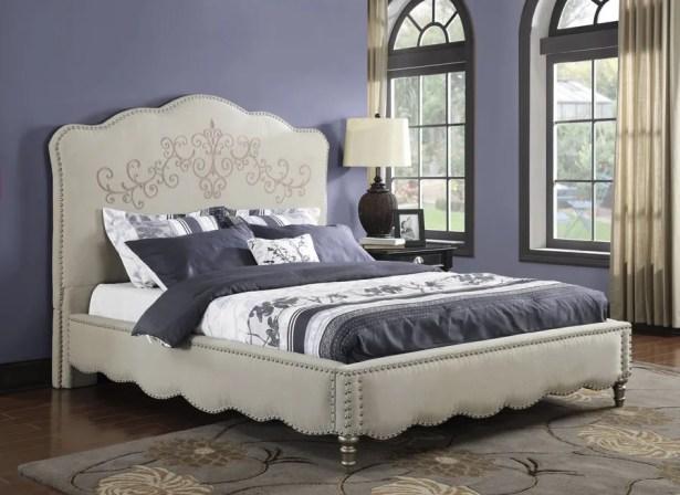 Lesser Upholstered Platform Bed
