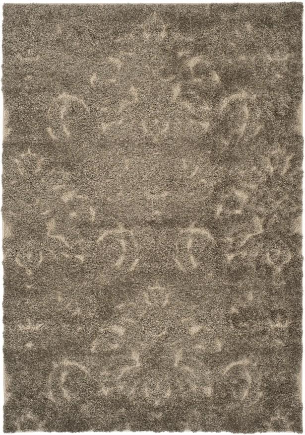 Gustav Light Smoke/Beige Area Rug Rug Size: Rectangle 4' x 6'