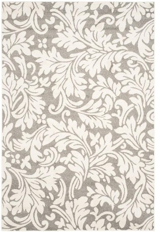 Maritza Dark Grey/Beige Woven Area Rug Rug Size: Rectangle 6' x 9'