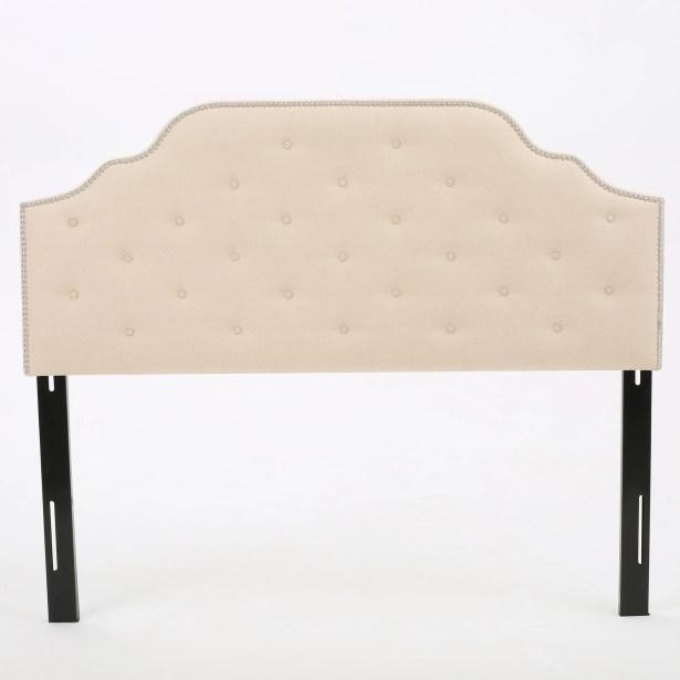 Boylan Upholstered Panel Headboard Upholstery: Beige, Size: Twin