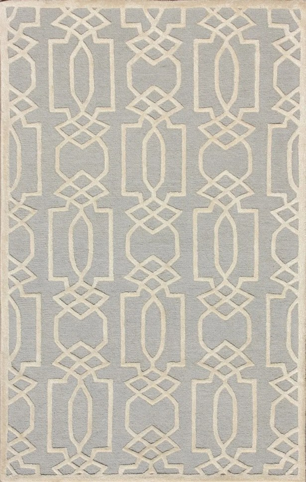 Mcguire Hand-Tufted Gray/Ivory Area Rug Rug Size: Runner 2'3