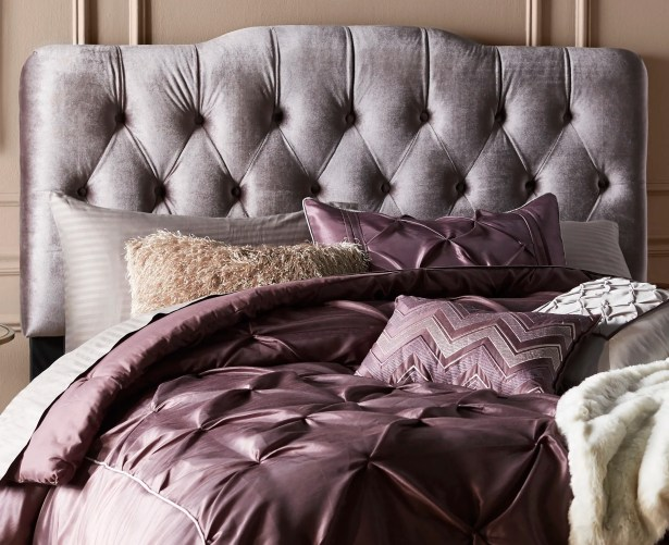 Alsop Upholstered Panel Headboard Upholstery: Gray, Size: King