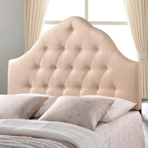 Joao Upholstered Panel Headboard Size: Twin, Upholstery: Ivory