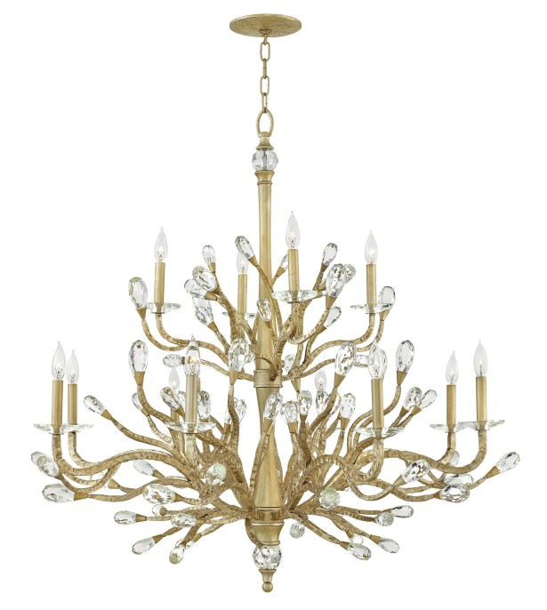Eve 12 Light Candle-Style Chandelier