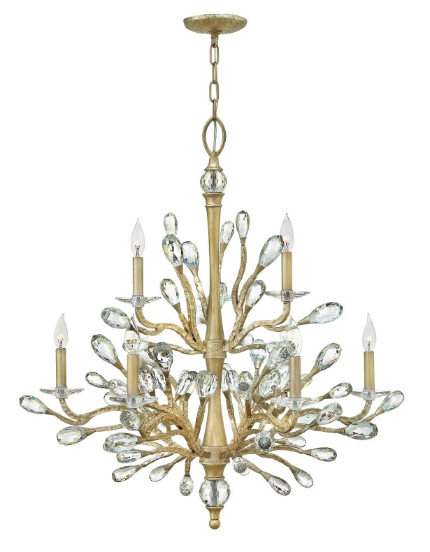 Diandre 9-Light Candle Style Chandelier
