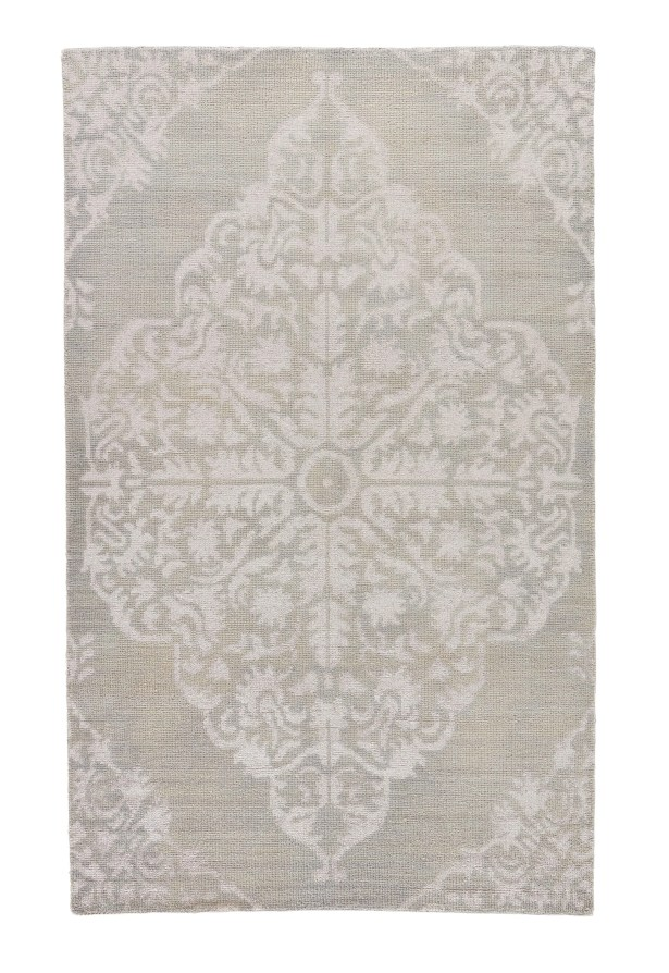 Vada Knotted Taupe Area Rug Rug Size: Rectangle 5' x 8'