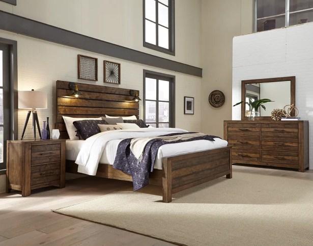 Emst Rustic Platform 6 Piece Bedroom Set Size: King