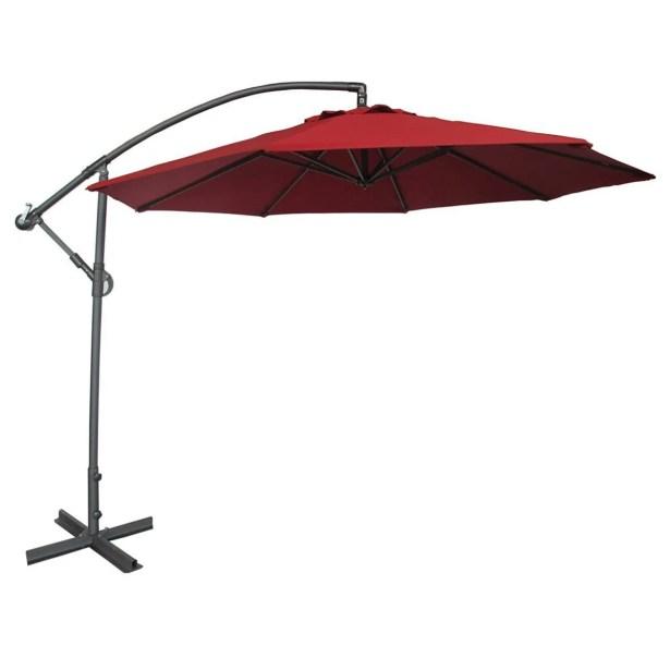 10' Cantilever Umbrella Color: Dark Red