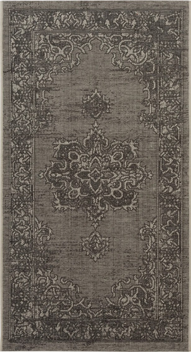 Cummington Light Gray/Anthracite Area Rug Rug Size: Rectangle 8' x 11'
