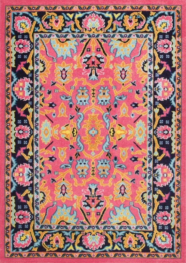 Provincetown Pink Area Rug Rug Size: Rectangle 8' x 10'