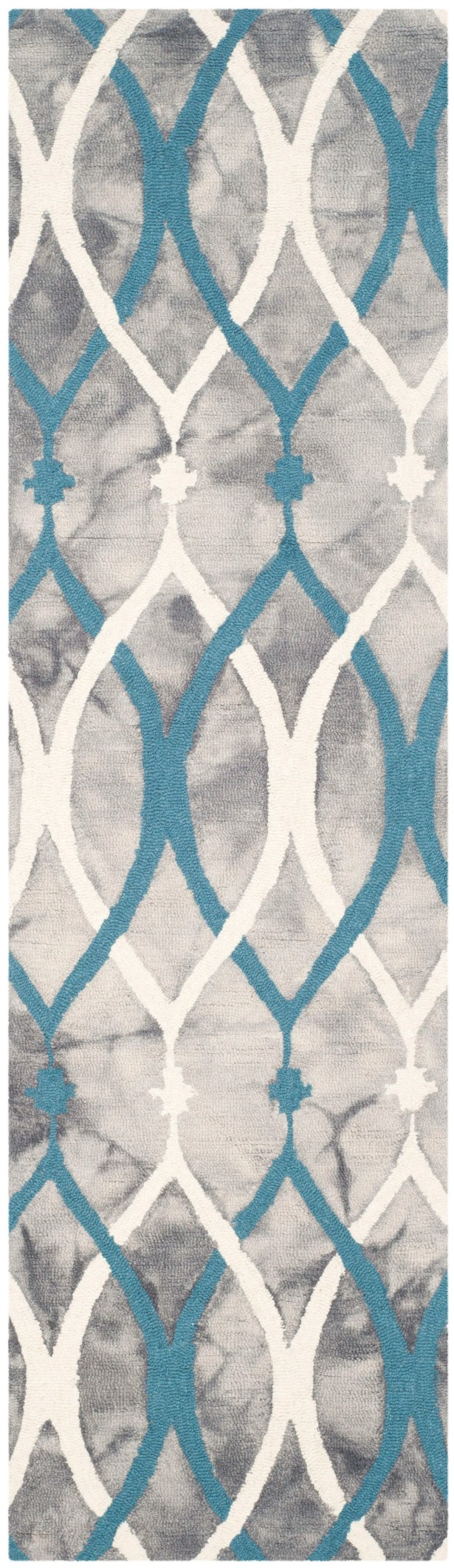 Clements Hand-Tufted Area Rug Rug Size: Runner 2'3