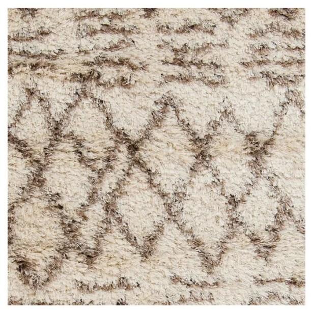 Sina Hand Woven Beige Area Rug Rug Size: Rectangle 9' x 12'