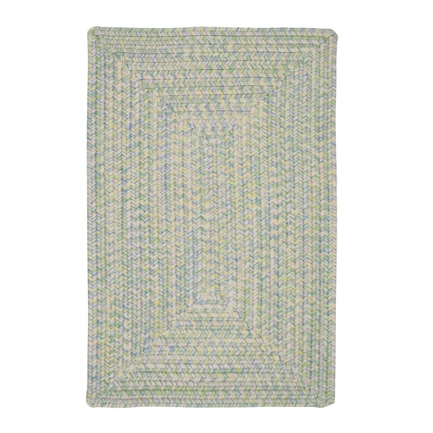Huntington Hand-Woven Green/Gold Area Rug Rug Size: Round 6'