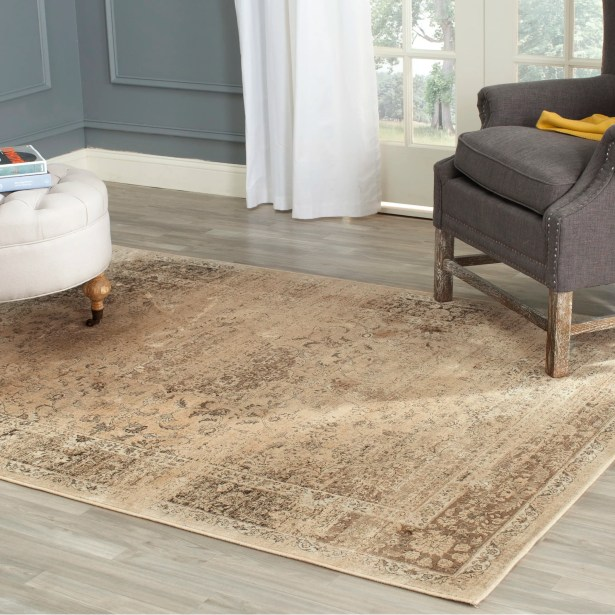 Todd Beige/Brown Area Rug Rug Size: Rectangle 6'7