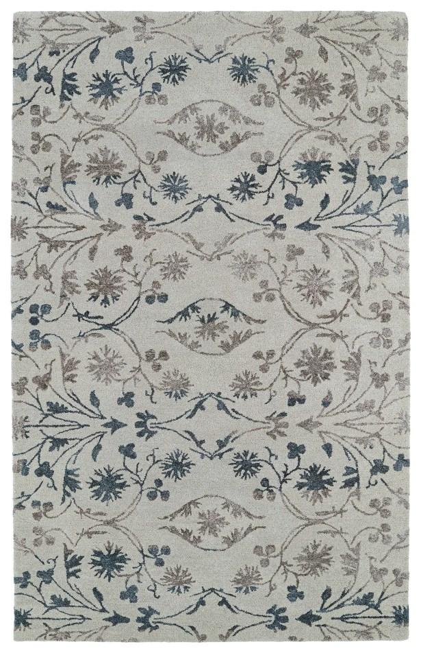 Paita Gray Area Rug Rug Size: Rectangle 5' x 7'9