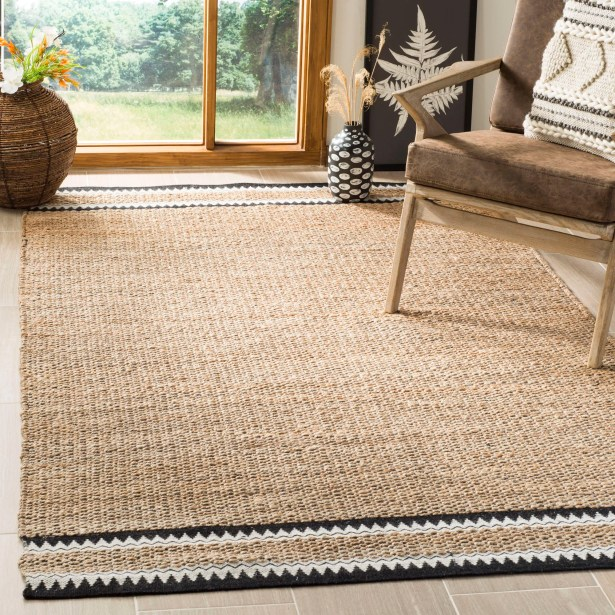 Framingham Hand-Woven Natural Area Rug Rug Size: Rectangle 5' x 8'