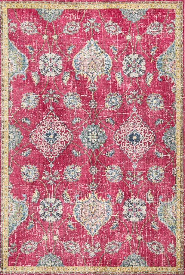 Cruise Pink Area Rug Rug Size: Runner 2'7