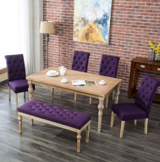 Dining Table Sets Kenleigh 6 Piece Dining Set