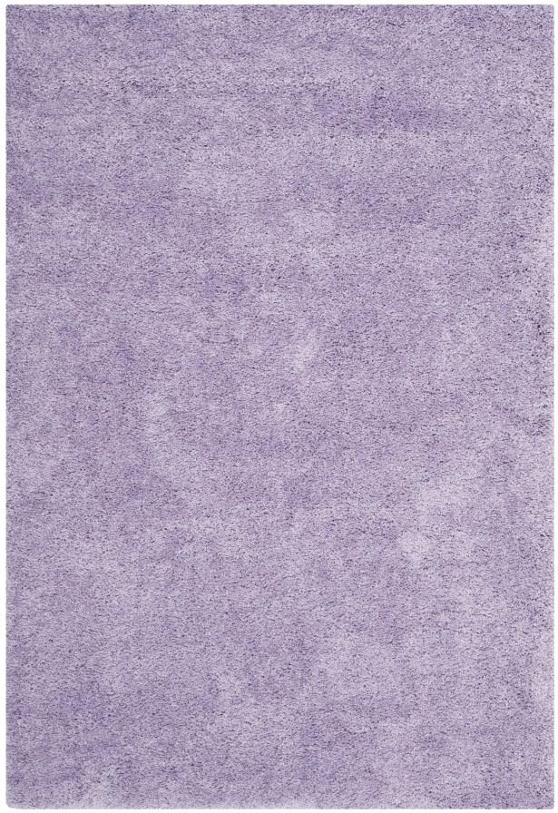 Ariel Lilac Shag Area Rug Rug Size: Rectangle 6'7