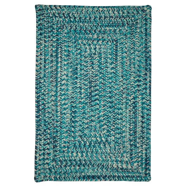 Giovanni Hand-Woven Blue Outdoor/Indoor Area Rug Rug Size: Rectangle 7' x 9'