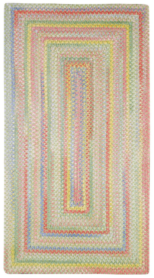 Melanie Beige/Pink Area Rug Rug Size: Oval 9'2