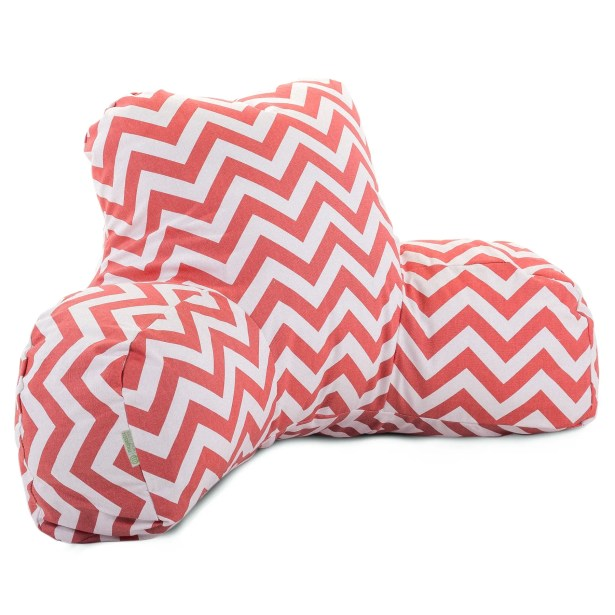 Bed Rest Pillow Color: Coral